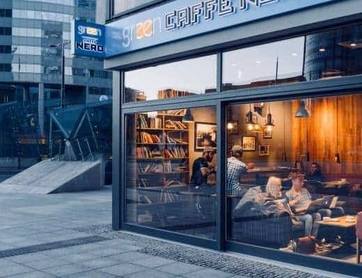 Leuke cafétjes in Warschau