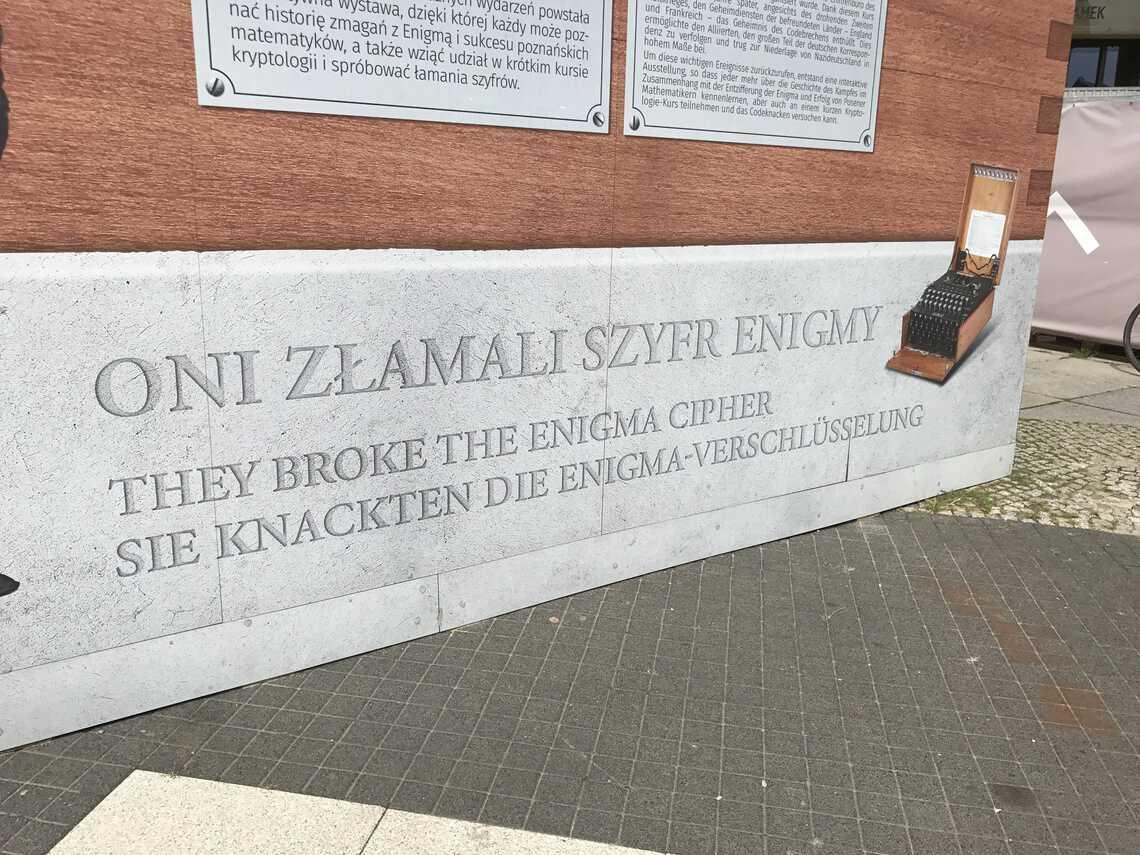 Het Enigma museum in Poznan