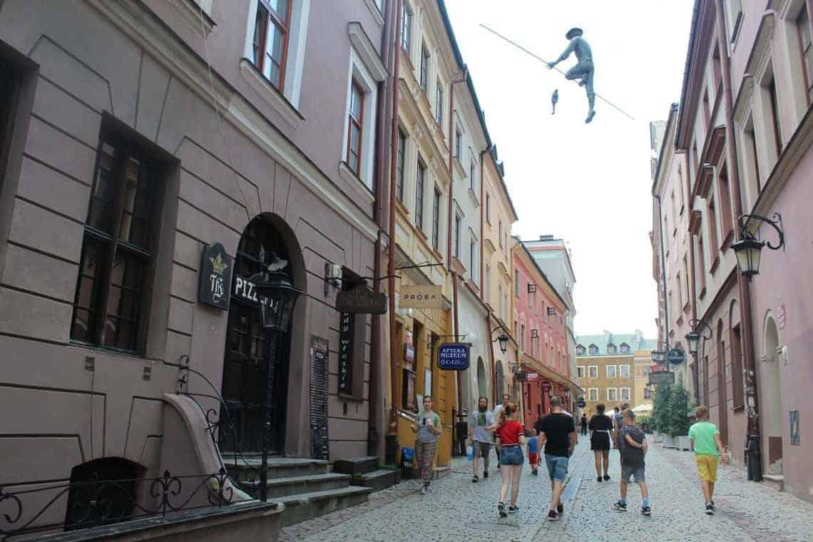 De oude stad van Lublin