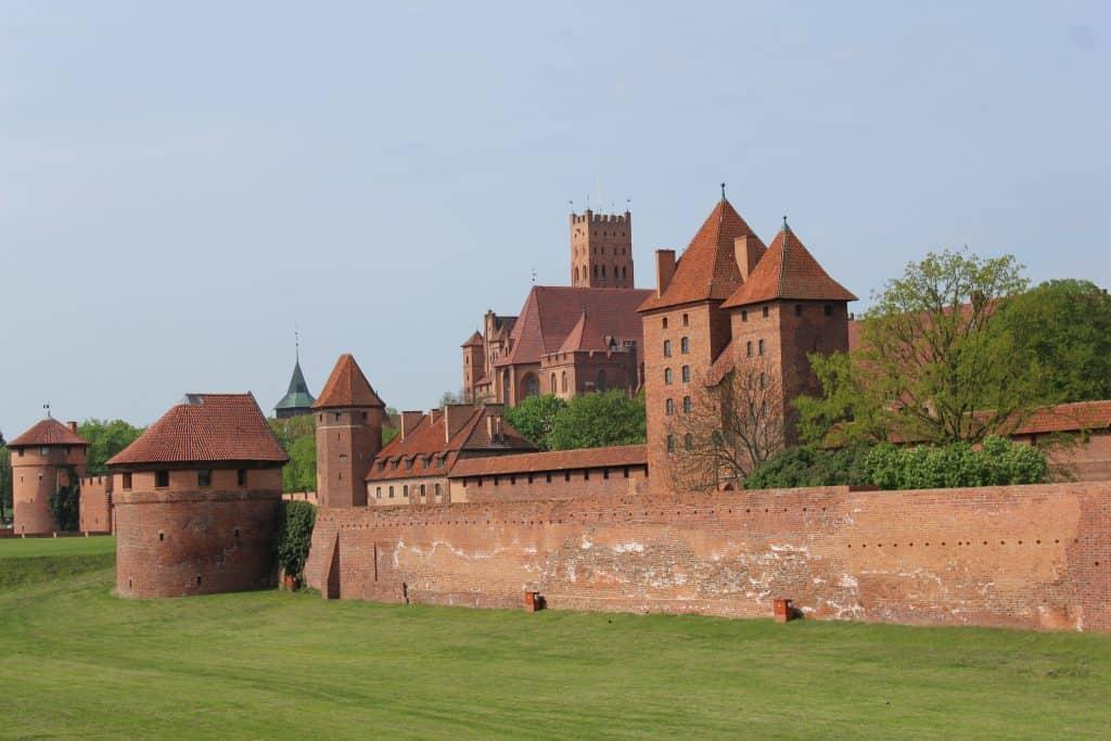 Het prachtige kasteel in Malbork
