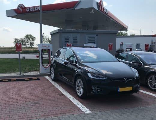 electrische auto op vakantie