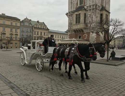 Oude Stad in Krakau