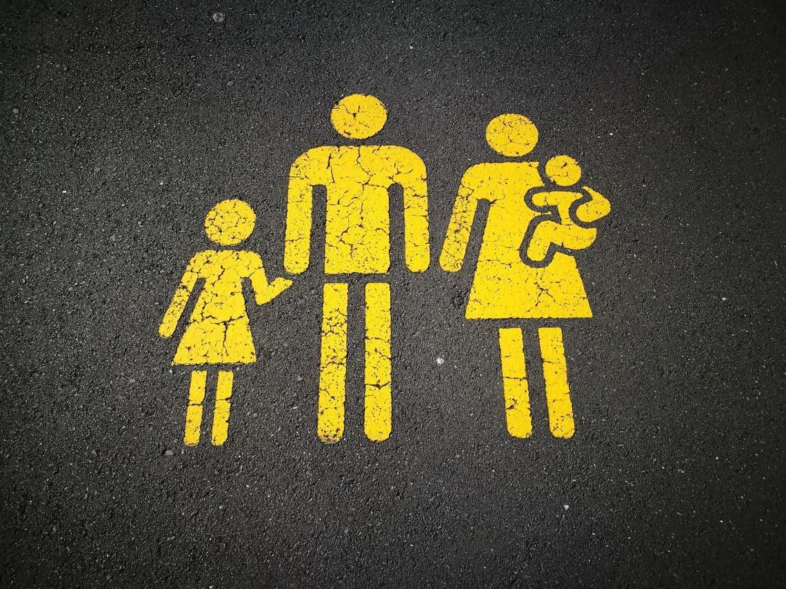 traditionele familie