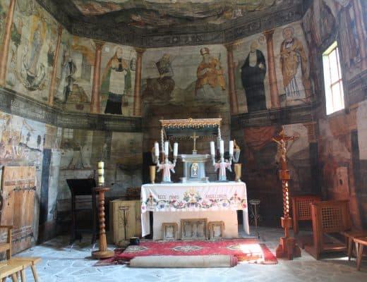 kerkjes in Polen