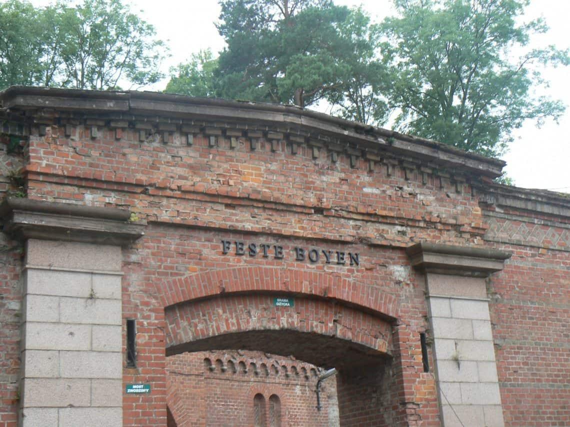 Fort Boyen in Polen