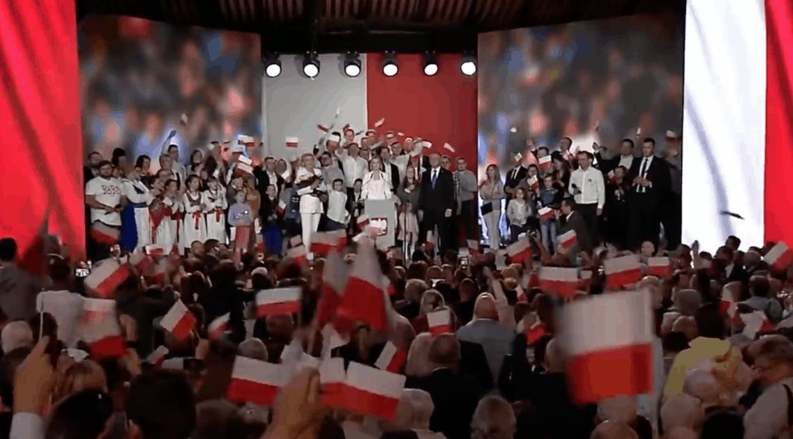 Resultatien presidentsverkiezingen in Polen