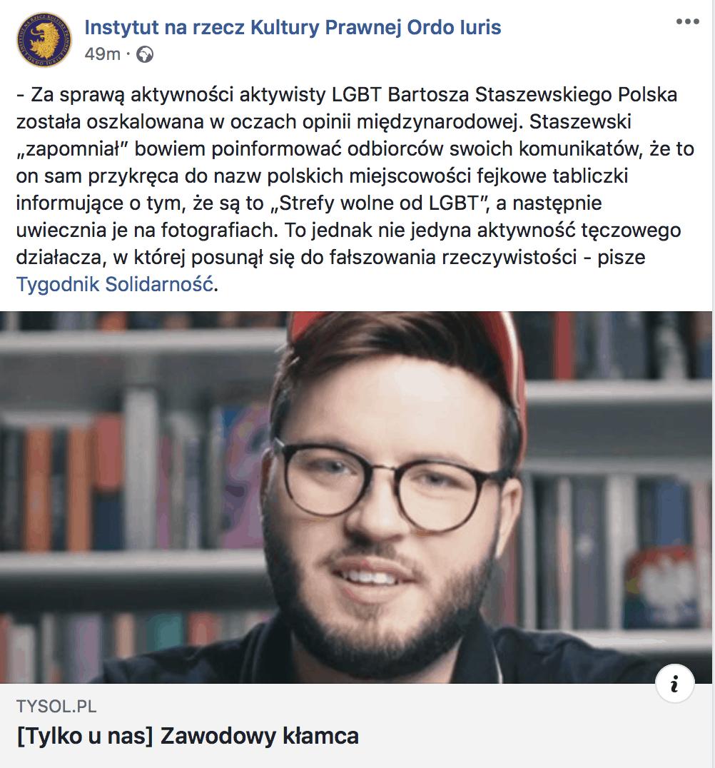 geen LGBT-vrije zones in Polen